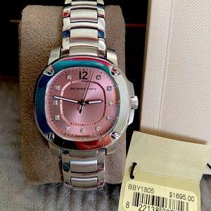 Burberry Diamond Watch